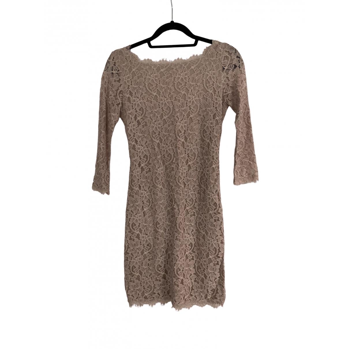 Diane Von Furstenberg \N Beige dress for Women 0 0-5