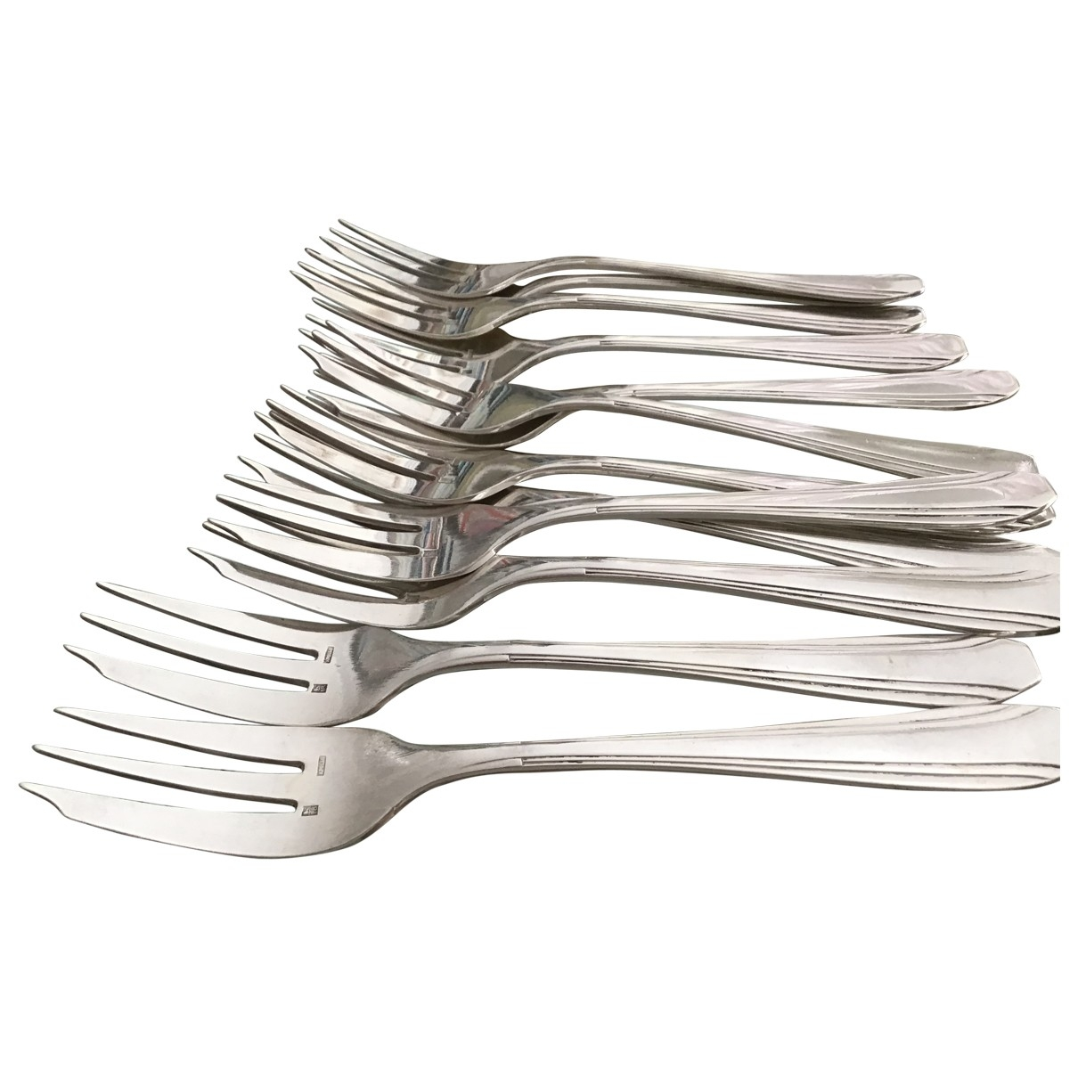 Non Signé / Unsigned \N Silver Silver Dinnerware for Life & Living \N