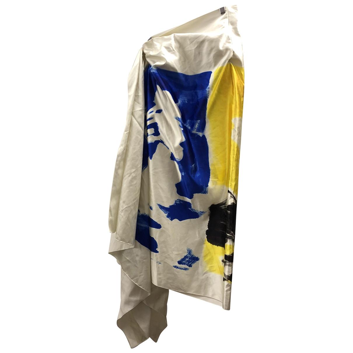 Dries Van Noten \N White Silk skirt for Women 40 FR